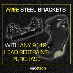 RT9119HRW - Lightweight Racing Seat - Free Steel Brackets